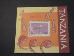 TANZANIA - BF 1987 INSETTO - NUOVO(++) - Tanzania (1964-...)
