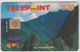 #10 - PERU-08 - PUZZLE - SATELITTE - Peru