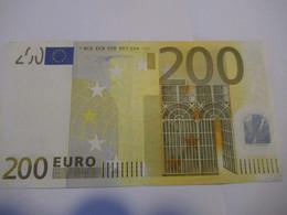 200 Euro-Schein Duisenberg, Draghi Gebr., Je - EURO