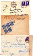 ITALIA   Storia Postale Di Posta Militare  Lotto Di 3 Buste  ,102 + 102 + 125 - 1900-44 Vittorio Emanuele III