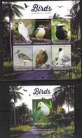 MARSHALL ISLANDS,  2019, MNH, BIRDS, KINGFISHERS, TERNS, DOVES, SHEETLET+S/SHEET, HIGH FV - Autres