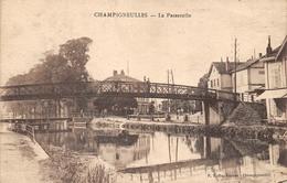 La Passerelle Champigneulles  Meurthe-et-Moselle  FRANCE - Nancy
