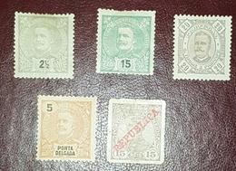 Timbres Neufs MNH - 1892-1898 : D.Carlos I
