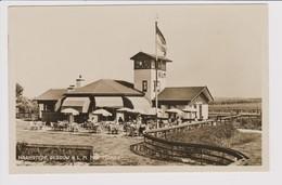 Vintage Rppc KLM Hotel, Restaurant & Cafe Near Haamstede Zeeland Airport 1932 - 1919-1938: Between Wars