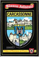 CARTE -AUTOCOLLANT-ECUSSON ADHESIF-KROMA-11-CARCASSONNE-TBE - Autocollants