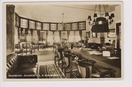 Vintage Rppc KLM Hotel, Restaurant & Cafe Interieur Near Haamstede Zeeland Airport 1932 - 1919-1938: Between Wars