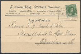 LUXEMBOURG - 1920 Carte Postale - Sonstige