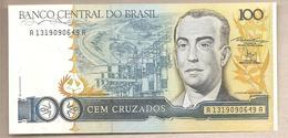 Brasile  - Banconota Non Circolata FdS Da 100 Cruzados P-211b - 1987 - Brasile