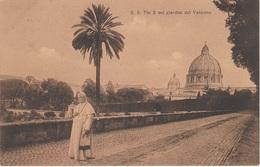 AK Vaticano Vatikan Vatican Pio Pius X Giardini Pope Pape Papst Basilica Pietro Peterskirche Petersplatz Rom Roma Rome - Vaticano