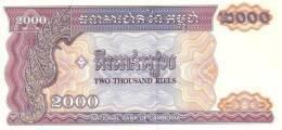 CAMBODIA P. 40  2000 R 1992 UNC - Cambodia