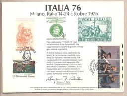 USA - Serie Completa: Bicentenario Americano: Lo Spirito Del '76 - Opera Di Di Archibald M. Willard - 1976 * G - Indipendenza Stati Uniti