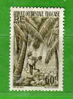(Us3)  Afrique Occidentale Française *, AOF 1948 - Yvert.43 . MH - Linguellato .  Vedi Descrizione - A.O.F. (1934-1959)