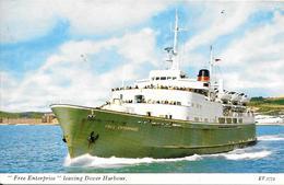CPA-1960-FERRY-FREE ENTERPRISE-Départ De DOVER--TBE - Ferries