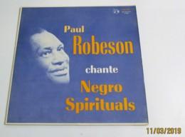 33T PAUL ROBESON Chante Negro Spirituals - Jazz