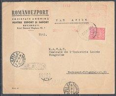 ROMANIA - 1948, Par Avion-air Mail Cover - Aéreo
