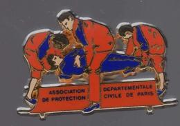 POMPIERS ASSOCIATION DEPARTEMENTALE DE PROTECTION CIVILE DE PARIS *** Signe Arthus BERTRAND *** 1015 - Arthus Bertrand