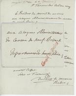 Griffe Conseil Des Anciens Sénéchal 886 An 5 - 30.7.1797 - Marcophilie (Lettres)