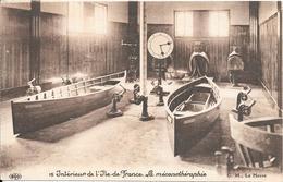 5-CPA-1910-PAQUEBOT-ILE DE FRANCE-CIE-AMENAGEMENT INTERIEUR-TBE - Paquebots