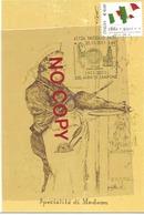 Modena, Carnevale 1880 Convegno Degli Artisti Le Sette Meraviglie. Annullo Vaciglio 20.10.2011, 500 Anni Di Zampone. - Cartoline