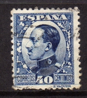 SPAIN ESPAÑA SPAGNA 1930 KING ALFONSO XIII RE CENT. 40c USATO USED OBLITERE' - 1889-1931 Regno: Alfonso XIII