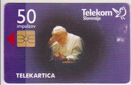 #10 - POPE-11 - SLOVAKIA - KAROL WOJTYLA - Slovenia