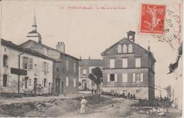 55 - POUILLY - LA MAIRIE ET LES ECOLES - Sonstige Gemeinden