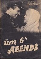 Filmprogramm - Um 6h Abends - 4 S. - Illustrierter Film-Kurier - Ladynina Samojlow ... - 1946 (41560) - Merchandising