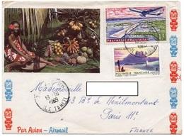 LSC 1965 - Cachet ILE TAHITI Sur YT 31  &  YT PA 5 - French Polynesia