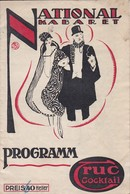 Programm National Kabaret Mährisch-Ostrau - Fischer Wagner Schönhoff - Wiener Kammer-Singspiele Galathee - 1919 (41561) - Theater & Drehbücher