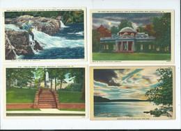 104 Cartes Amerique - Postkaarten