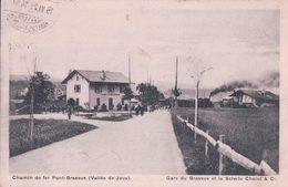 Vallée De Joux, Chemin De Fer Pont - Brassus, Gare Et Train à Vapeur, Scierie Chalut (15.6.21) - VD Waadt