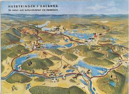 Sweden Husbyringen In Dalarna, A Natur And Culture Road At Hedemora, Unused - Zweden