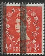 Great Britain, EIIR, 1/2d, Wmk, Vertical Roller Lines For Use In Post Office Training School, MNH ** - Unused Stamps