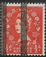 Great Britain, EIIR, 1/2d, Wmk, Vertical Roller Lines For Use In Post Office Training School, MNH ** - 1952-.... (Elizabeth II)