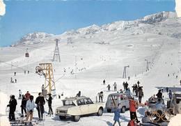 Alpe D'Huez Attention à L'état Voitures Renault 4L Citroën Ami JO 1968 - Francia