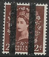 Great Britain, EIIR, 2d, Wmk, Vertical Roller Lines For Use In Post Office Training School, MNH ** - Unused Stamps