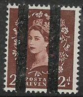 Great Britain, EIIR, 2d, Wmk, Vertical Roller Lines For Use In Post Office Training School, MNH ** - 1952-.... (Elizabeth II)