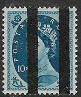 Great Britain, EIIR, 10d, Wmk, Vertical Roller Lines For Use In Post Office Training School, MNH ** - 1952-.... (Elizabeth II)