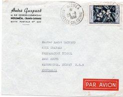 LSC - Cachet NOUMEA  Sur YT 286 - Le Café - Briefe U. Dokumente