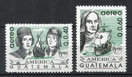Guatemala 1992. Yvert A 839-40 ** MNH. - Guatemala