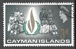 1968 3d Human Rights, Used - Cayman Islands
