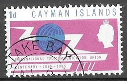 1965 1d ITU, Used - Cayman Islands