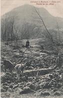 AK Krochwitz Chrochvice Erdrutsch 1914 Pioniere Arbeit A Schönborn Krasny Studenec Tetschen Bodenbach Decin Hopfengarten - Sudeten