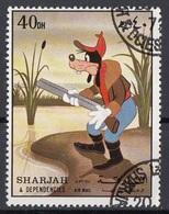 Sharjah 1972 Mi. 1130 Pippo Goofy Disney Cartoni Animati CTO - Disney