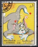 Sharjah 1972 Mi.  Tom& Jerry  Disney Cartoni Animati CTO - Disney