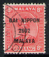 PAHANG (MALAYSIA) 1942 - From Set Used - Occupation Japonaise