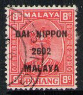 PAHANG (MALAYSIA) 1942 - From Set Used - Ocupacion Japonesa