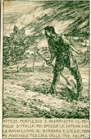 """FRANCHIGIA_Cartolina Postale Militare Italiana Del Regio Esercito""""Soldato D'Italia-Attese Perplesso E....-ILL.Mazzoni- - Posta"""