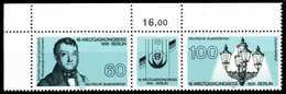 BRD ZUSAMMENDRUCK Nr WZD10 Postfrisch 3ER STR ECKE-OLI X61486E - BRD