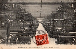 BOURGOIN - Usine Diederichs - Atelier De 680 Métiers - Bourgoin